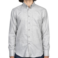 Easy Shirt - Soft Twill - Pale Grey - front