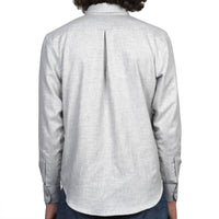 Easy Shirt - Soft Twill - Pale Grey - back