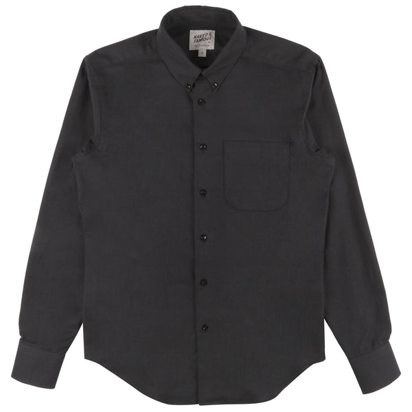 Regular Shirt - Classic Flannel - Black
