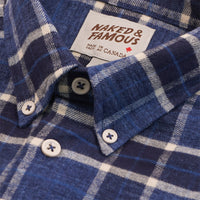 Easy Shirt - Northern Brushed Flannel - Blue/Navy