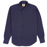 Easy Shirt - Sashiko Dobby - Navy