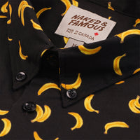 Easy Shirt - Banana Print - Black