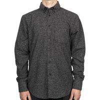 Easy Shirt - Nep Twill - Black - front