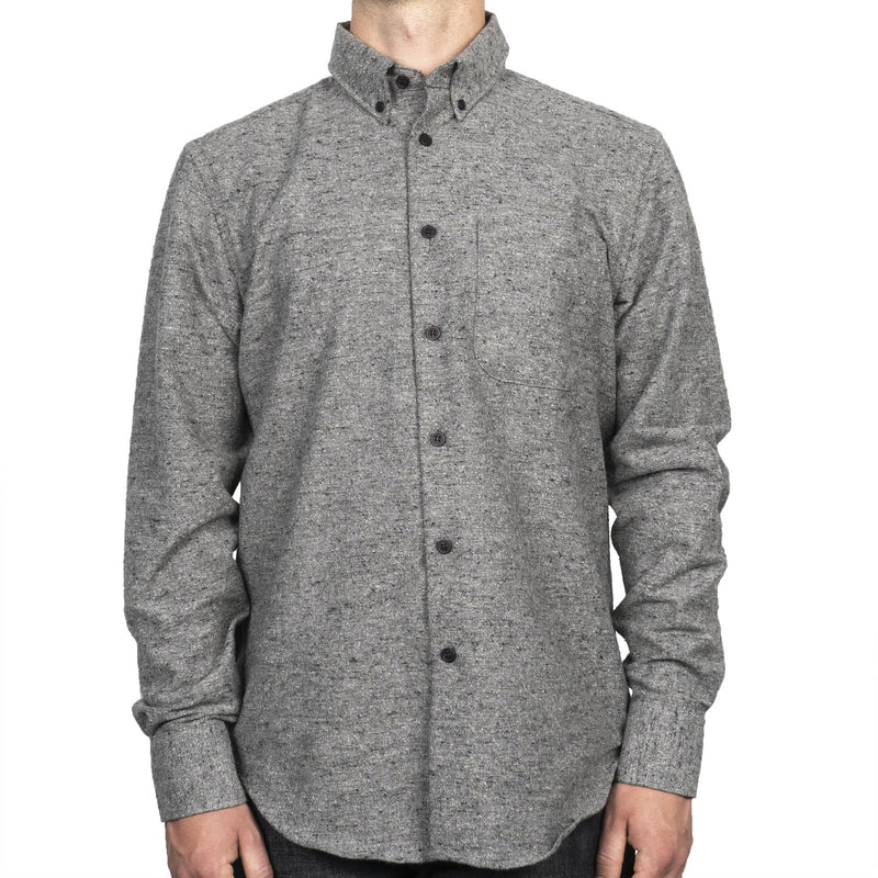 Easy Shirt - Nep Twill - Grey - front
