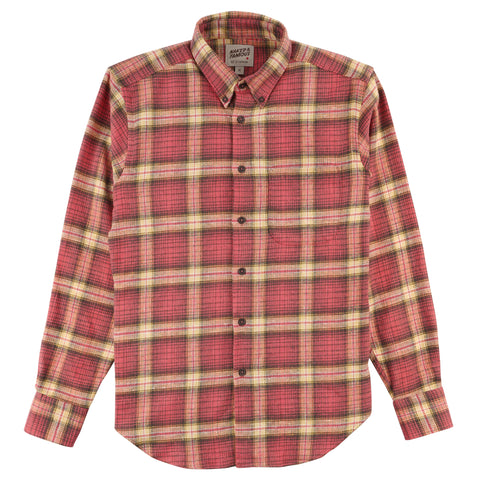 Easy Shirt - Rustic Nep Flannel - Pink