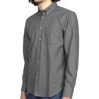 Easy Shirt - Heathered Houndstooth - Dark Grey - side