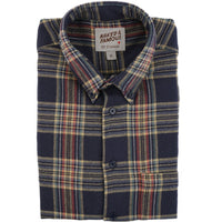 Easy Shirt - Cotton Silk Flannel - Navy - main