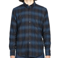 Easy Shirt - Brushed Plaid - Blue - front