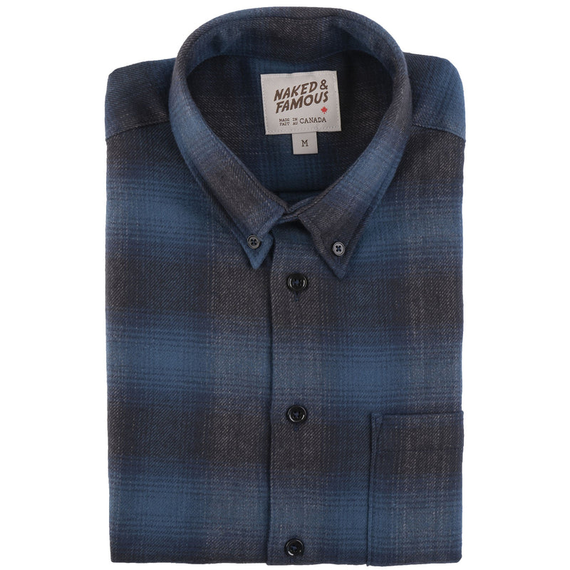 Easy Shirt - Brushed Plaid - Blue - main