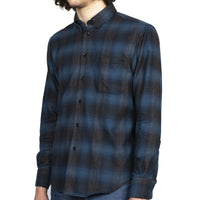 Easy Shirt - Brushed Plaid - Blue - side