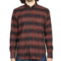 Easy Shirt - Brushed Plaid - Red - front