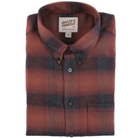 Easy Shirt - Brushed Plaid - Red - main