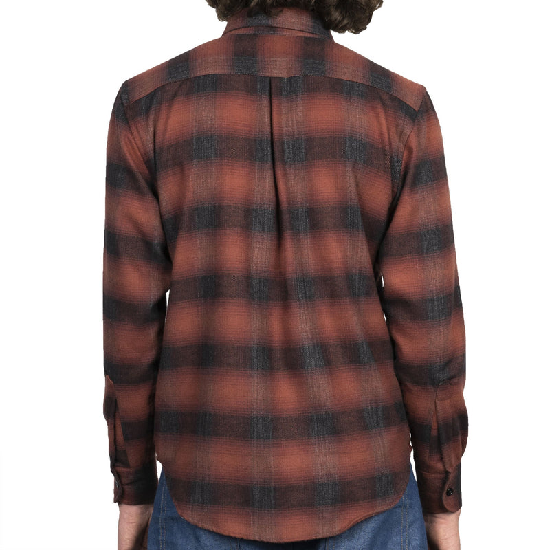 Easy Shirt - Brushed Plaid - Red - back