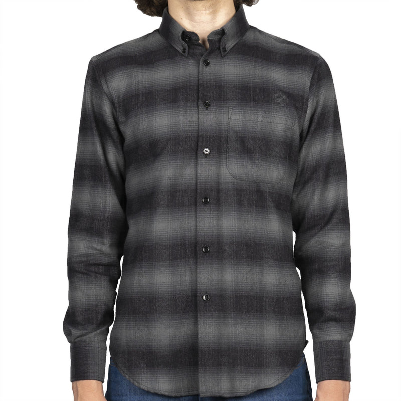 Easy Shirt - Brushed Plaid - Grey - front