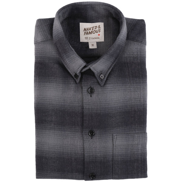 Easy Shirt - Brushed Plaid - Grey - main
