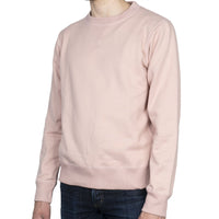 Crewneck - Heavyweight Terry - Blush - side