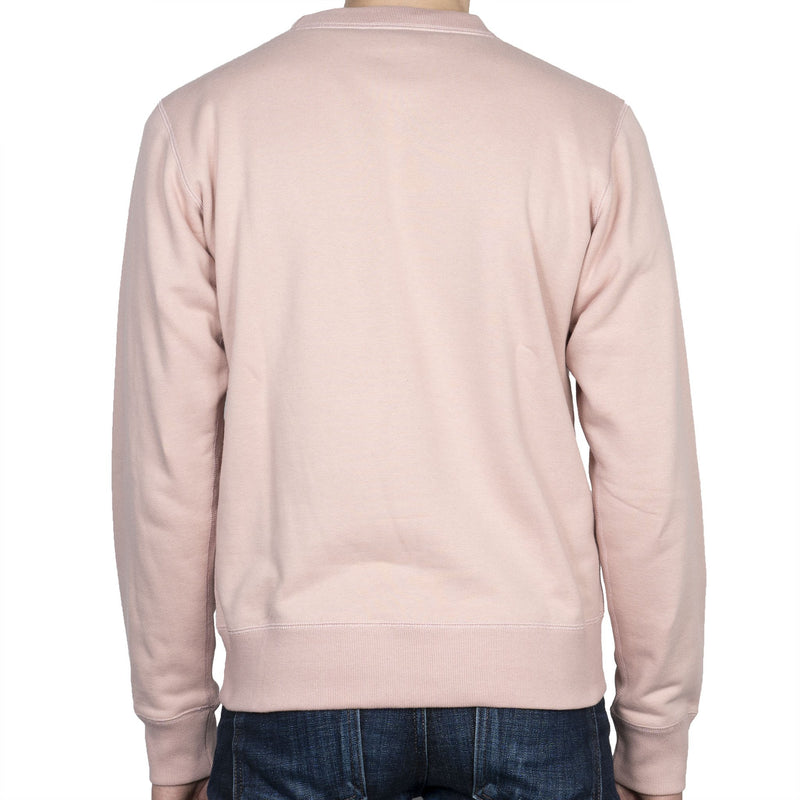 Crewneck - Heavyweight Terry - Blush - back
