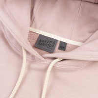Pullover Hoodie - Heavyweight Terry - Blush - Collar