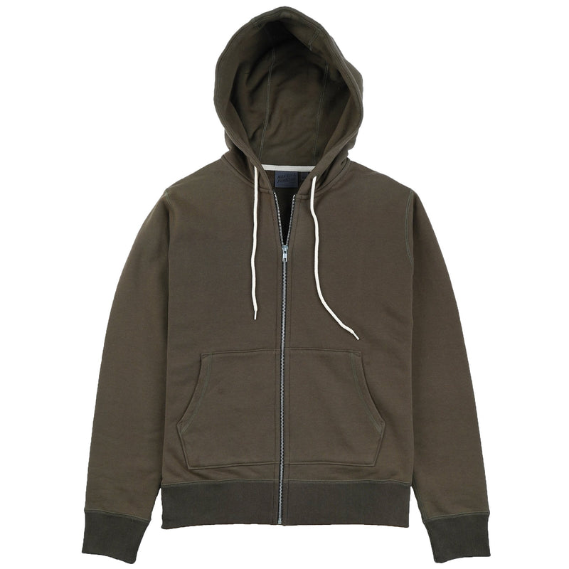 Zip Hoodie - Heavyweight Terry - Hunter Media 1 of 2