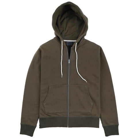 Zip Hoodie - Heavyweight Terry - Hunter