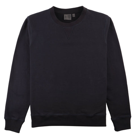 Crewneck - Heavyweight Terry - Navy