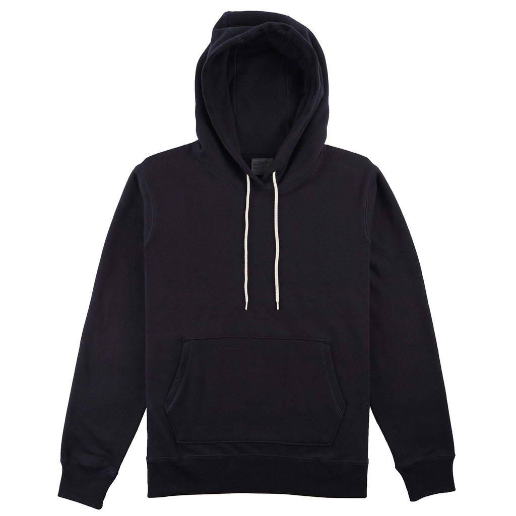 Pullover Hoodie - Heavyweight Terry - Navy