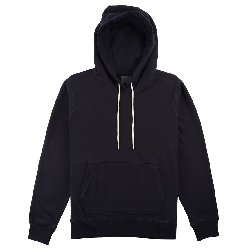 Pullover Hoodie - Heavyweight Terry - Navy Media 1 of 2
