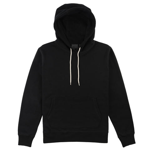 Pullover Hoodie - Heavyweight Terry - Black