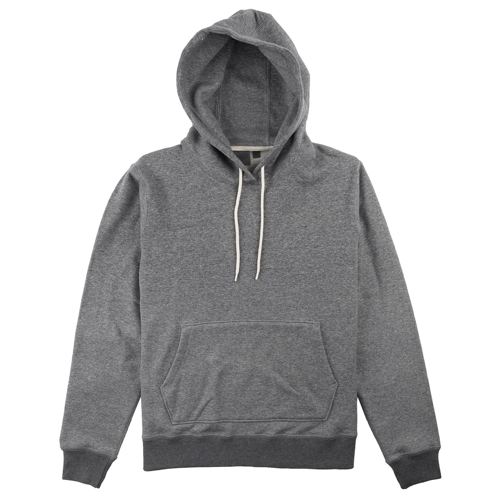 Pullover Hoodie - Heavyweight Terry - Charcoal