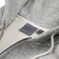 Zip Hoodie - Heavyweight Terry - Grey Media 2 of 2