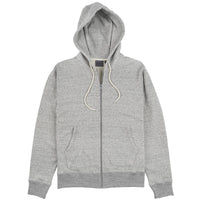Zip Hoodie - Heavyweight Terry - Grey