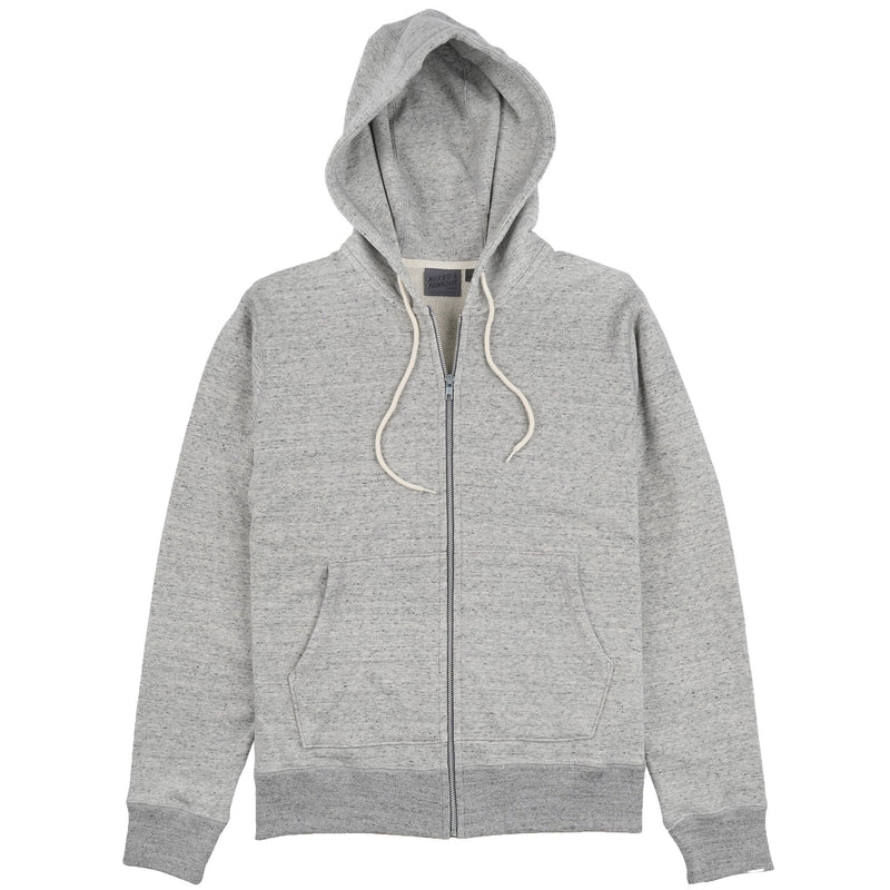 Zip Hoodie - Heavyweight Terry - Grey Media 1 of 2