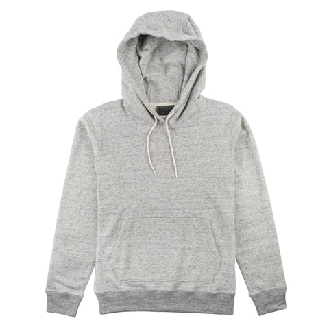 Pullover Hoodie - Heavyweight Terry - Grey