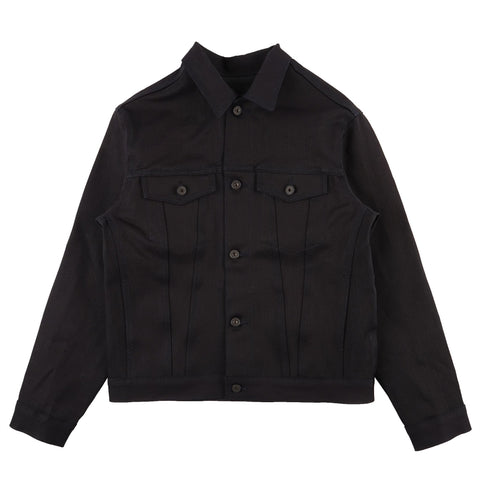 Denim Jacket - Left Hand Twill - Midnight Edition - front