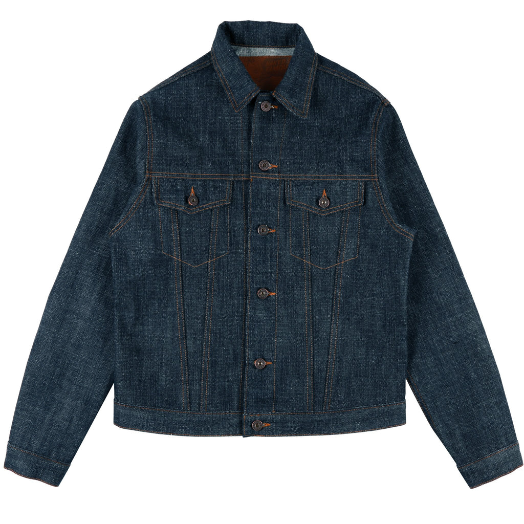 Japan Heritage Returns Unsanforized Denim Jacket by Naked & Famous Denim