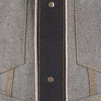 Denim Jacket - Elephant 8 Supima Soft Selvedge - inside