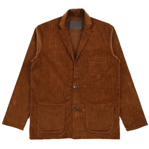 Blazer - Heavy Velvet Twill - Brown