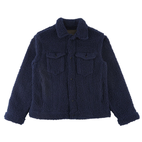 Navy Fleece - front