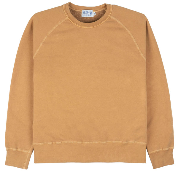 8oz Pigment Crewneck Freedom Sweat - Cork