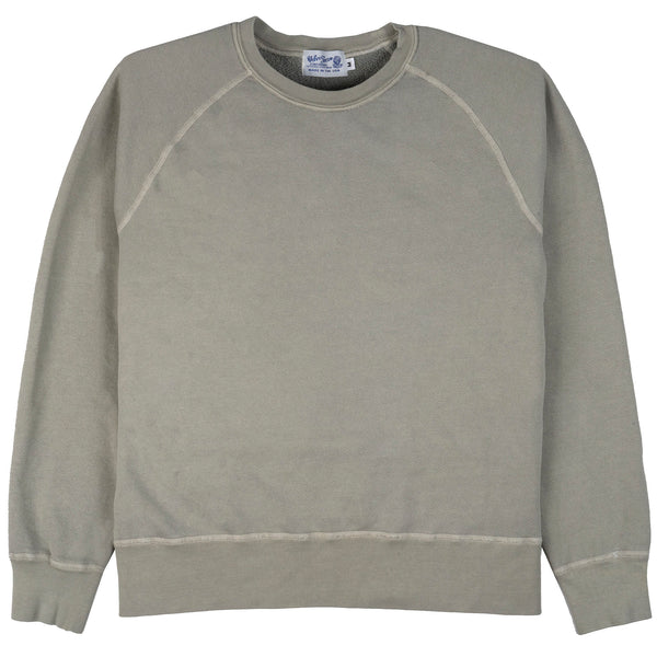 8oz Pigment Crewneck Freedom Sweat - Grey