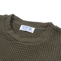 Heavy oz Thermal Long-Sleeved Crewneck Tee - Olive