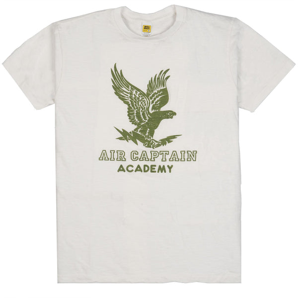 Air Captain Tee - White