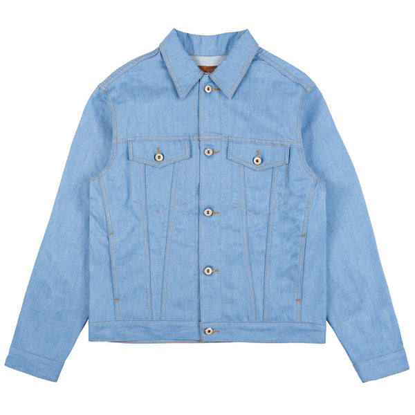 Denim Jacket - Summer Sky Selvedge