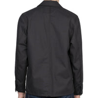 Chore Coat - Black Canvas - back