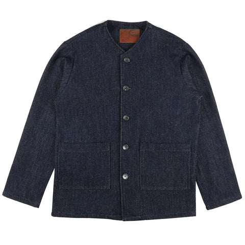 Chore Coat - Loose Weave Denim
