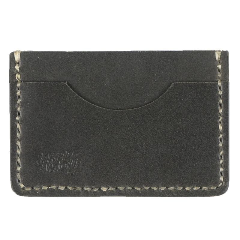 Card Case - Full Grain Leather - Green