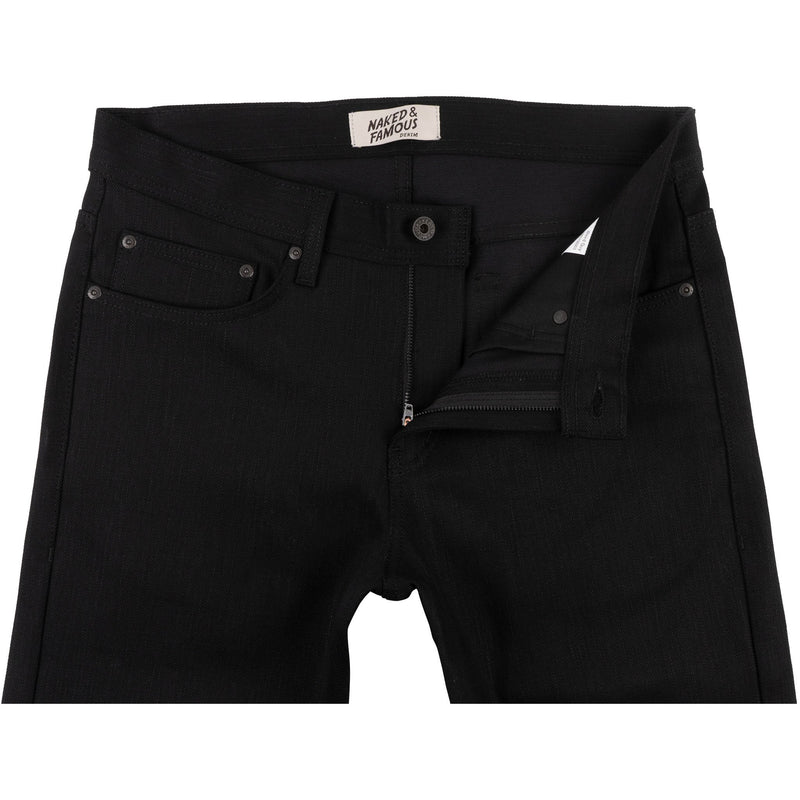 Weird Guy - Kihon Black Stretch Denim