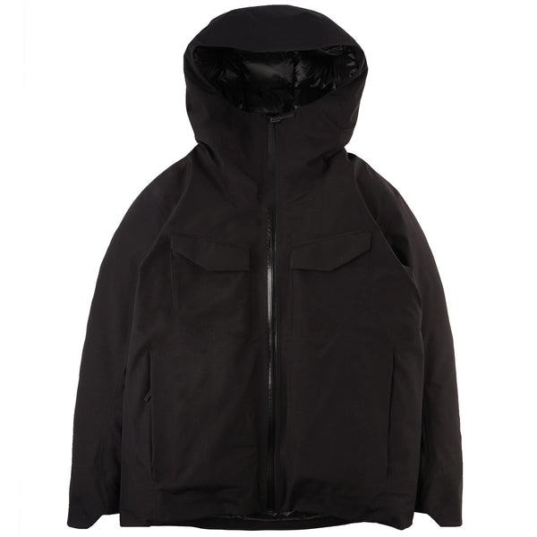 Node Down Jacket - Black - FRONT