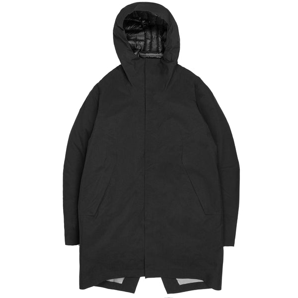 25903 - Monitor Down Coat - Black