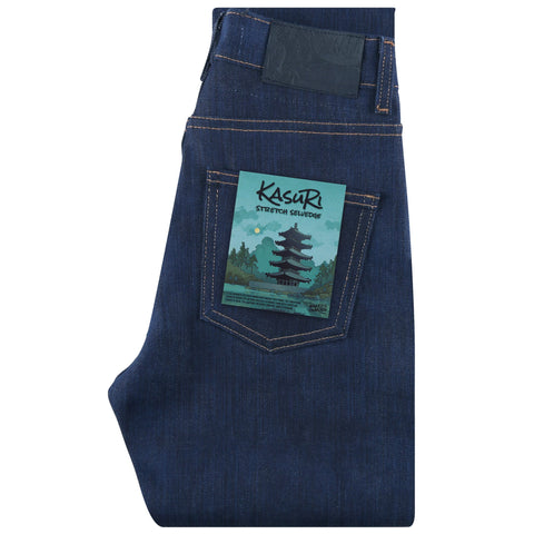 Women's - High Skinny - Kasuri Stretch Selvedge